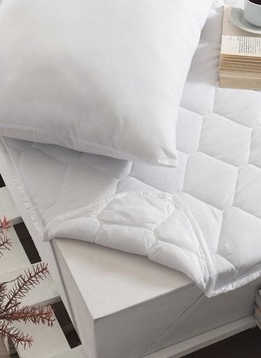 Komfort Home King Size Çift Kişilik Yatak Koruyucu Alez 180x200Cm Renkli